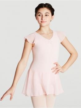 Bloch BU201C Kurzarm Balletttrikot f/ür Kinder